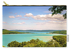 Carry-all Pouch featuring the photograph Sleeping Bear Dunes National Lakeshore by Alexey Stiop