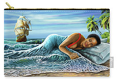 Sleeping Beauty Carry-all Pouch by Anthony Mwangi