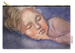 Sleeping Beauty Carry-all Pouch by Marilyn Jacobson