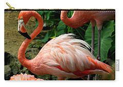 Sleeping Flamingo Carry-all Pouch