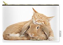 Sleeping On Bun Carry-all Pouch