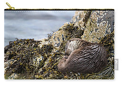 Sleeping Otter Carry-all Pouch