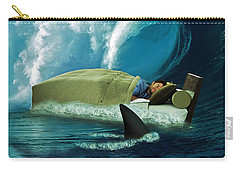 Sleeping With Sharks Carry-all Pouch by Marian Voicu