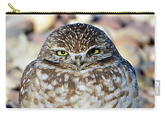 Sleepy Burrowing Owl Carry-all Pouch