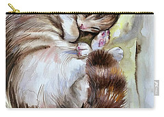 Sleepy Cat 2 Carry-all Pouch