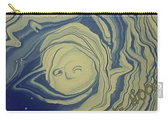 Sleepy Man In The Moon Carry-all Pouch