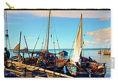 Sleepy Sail Boats Zanzibar Carry-all Pouch