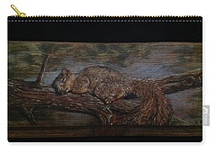 Sleepy Squirrel Carry-all Pouch