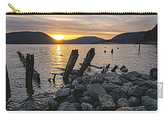 Sleepy Waterfront Dream Carry-all Pouch by Angelo Marcialis