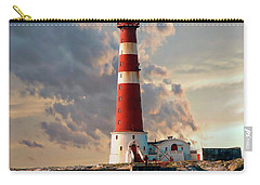 Sletringen Lighthouse Carry-all Pouch by Anthony Dezenzio