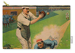 Sliding Home 1897 Carry-all Pouch by Padre Art