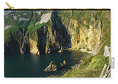 Carry-all Pouch featuring the photograph Slieve League Cliffs Eastern End by RicardMN Photography