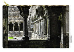 Carry-all Pouch featuring the photograph Sligo Abbey Interior by RicardMN Photography