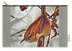Slim Pickens, Carolina Wren Carry-all Pouch