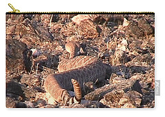 Slithering Away With Tail Held High Carry-all Pouch