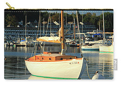 Sloop Reflections Carry-all Pouch by Roupen  Baker