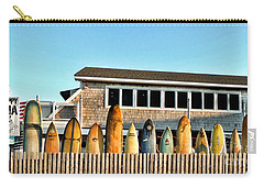 Sloppy Tuna Restaurant, Montauk Long Island Carry-all Pouch by Joan  Minchak