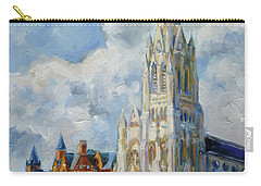 Slu - Grand And Lindell, Saint Louis Carry-all Pouch