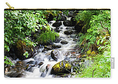 Small Alaskan Waterfall Carry-all Pouch