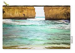 Carry-all Pouch featuring the photograph Small Bay by Perry Webster