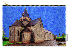 Carry-all Pouch featuring the photograph Small Church 2 by Jean Bernard Roussilhe