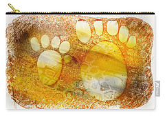 Small Feet And Big Feet 14 Carry-all Pouch