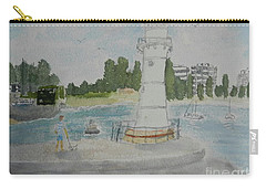 Small Lighthouse One Belmore Basin Carry-all Pouch