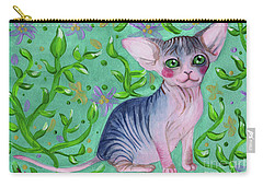 Small Sphynx Carry-all Pouch