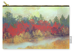 Carry-all Pouch featuring the digital art Small Spring by Jessica Wright