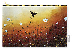 Carry-all Pouch featuring the painting Small Treasure by Carmen Guedez