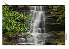 Small Waterfalls In The Forest. Carry-all Pouch