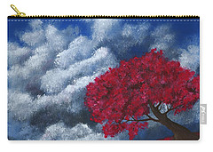 Carry-all Pouch featuring the painting Small World by Anastasiya Malakhova