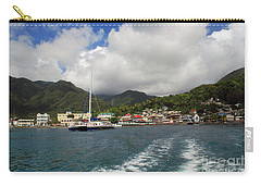 Carry-all Pouch featuring the photograph Smalll Village by Gary Wonning