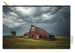 Carry-all Pouch featuring the photograph Smallville by Aaron J Groen
