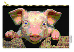 Smart Pig Carry-all Pouch by Charles Shoup