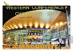 Carry-all Pouch featuring the photograph Smashville Western Conference Champions 2017 by Lisa Wooten