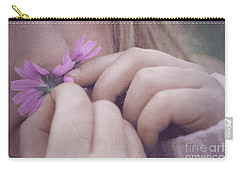 Carry-all Pouch featuring the photograph Smell Life - V05t by Variance Collections