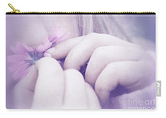 Carry-all Pouch featuring the digital art Smell Life - V07t3 by Variance Collections