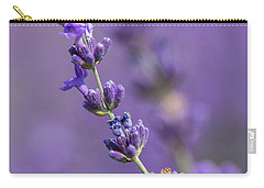 Smell The Lavender Carry-all Pouch
