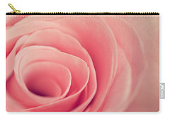 Smell The Roses Carry-all Pouch by Yvette Van Teeffelen