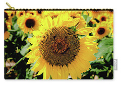 Carry-all Pouch featuring the photograph Smile by Greg Fortier
