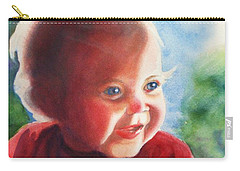 Smile Carry-all Pouch by Marilyn Jacobson