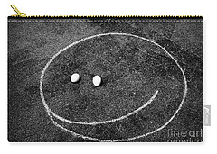 Smiley - Chalk N Eggs Carry-all Pouch by Aimelle