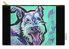 Smiley Schnauz Carry-all Pouch
