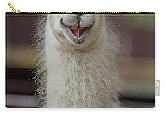Smiling Alpaca Carry-all Pouch