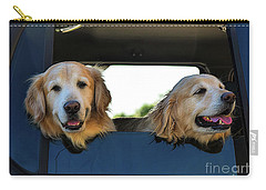 Smiling Dogs Carry-all Pouch