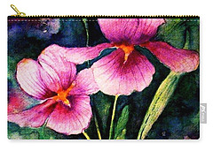 Smiling Iris Faces  Carry-all Pouch
