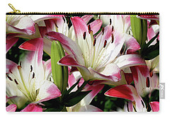 Smiling Lilies Carry-all Pouch