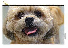 Smiling Shih Tzu Dog Carry-all Pouch