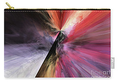 Carry-all Pouch featuring the digital art Smite The Evil  by Margie Chapman